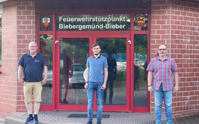 Besuch bei der Freiwilligen Feuerwehr Biebergemünd