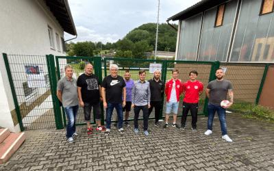 Ein Treffen über Sport, Ehrenamt und Zukunftsvisionen