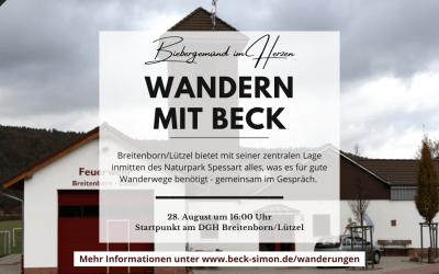 Wandern mit Beck – Naturpark Spessart entdecken