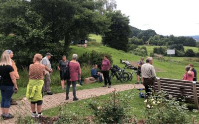 Wandern mit Beck: sehenswertes Roßbach