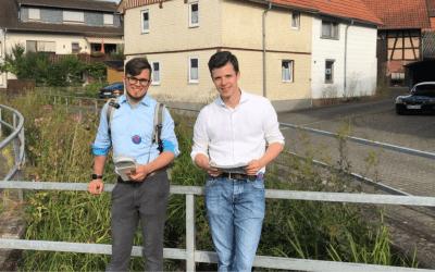 Haustürwahlkampf zu Ende